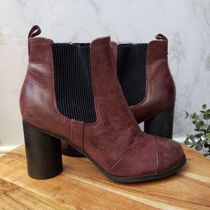 Miz Mooz Iris Boots in Wine